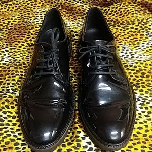 Ecco Danish design men's Sz10 leather dress shoes
